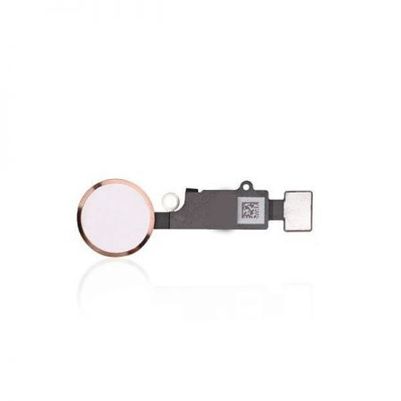iPhone 7 / 7 Plus Home Button Flex kabel Rose Goud 10089