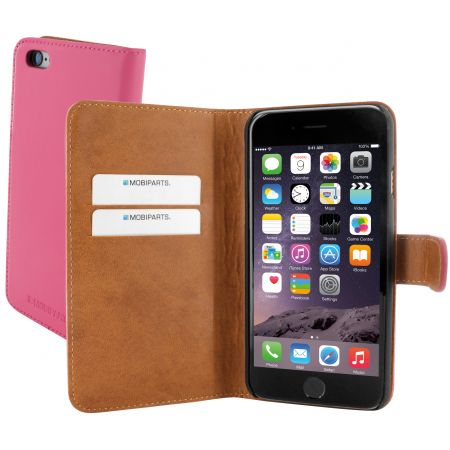 Mobiparts Premium Wallet Case Apple iPhone 6/6S Pink PRE-WALLET-IP6-03