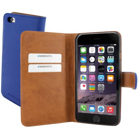 Mobiparts Premium Wallet Case Apple iPhone 6/6S Blue PRE-WALLET-IP6-04