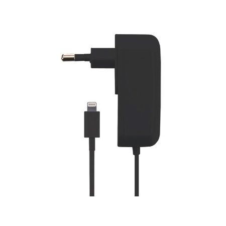 Gecko Travel Charger Apple Lightning 2.1A Black GG500038