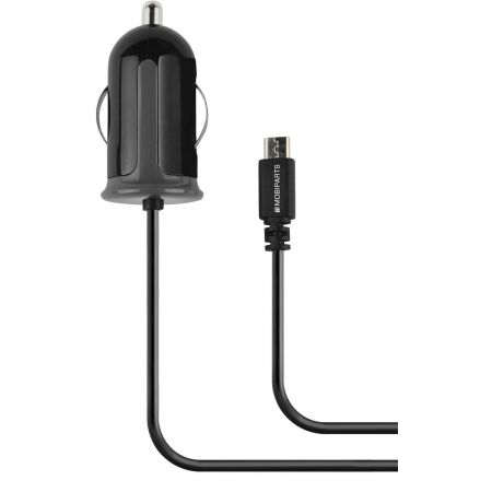 Mobiparts Car Charger Micro USB 2.1A Black MP-36412