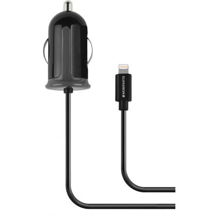 Mobiparts Car Charger Apple Lightning 2.4A Black MP-36414