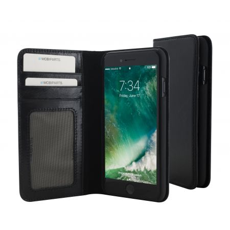 Mobiparts Excellent Wallet Case Apple iPhone 7 Jade Black EXC-WAL-IP7-01