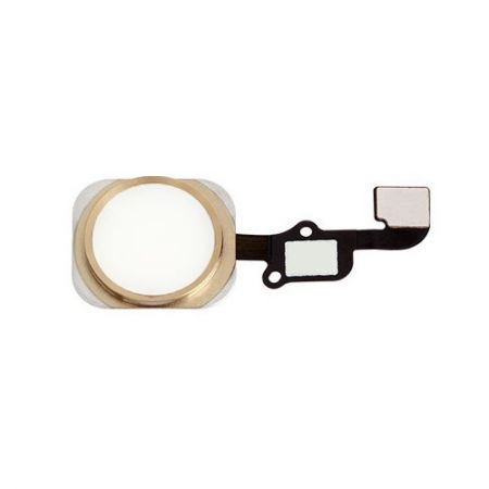iPhone 6 / 6 Plus Home Button met Flex kabel Goud 10346