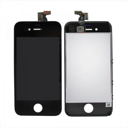 iPhone 4S Scherm (LCD + Digitizer Glas) Zwart 10047
