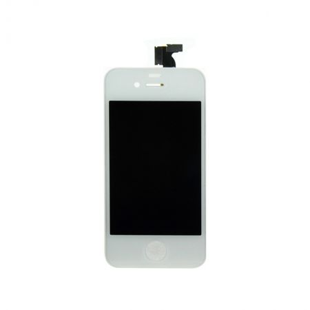 iPhone 4 Scherm (LCD + Digitizer Glas) Wit 10050