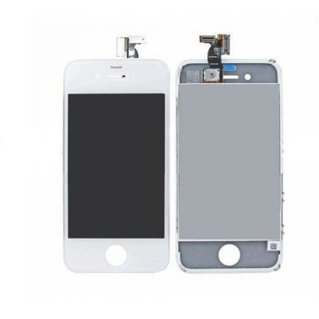 iPhone 4S Scherm (LCD + Digitizer Glas) Wit 10048
