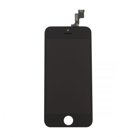 iPhone 5S/SE Scherm (LCD + Digitizer Glas) A+ Zwart 10029