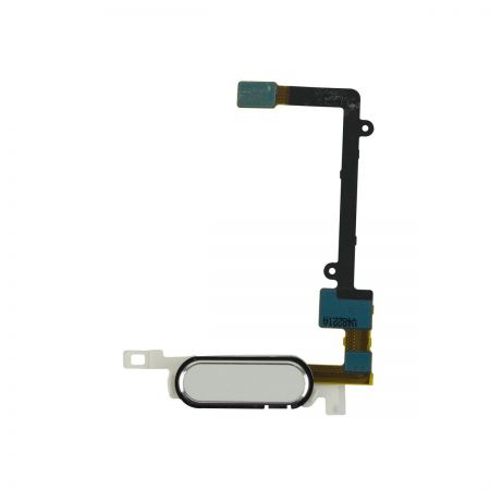 Samsung Galaxy Note 4 Home Button Flex kabel Wit 11396