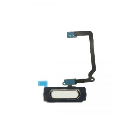 Samsung Galaxy S5 Home Button Flex kabel Wit 11203
