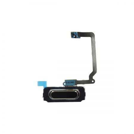 Samsung Galaxy S5 Home Button Flex kabel Zwart 11202