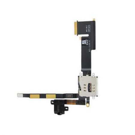 iPad 2 (3G) Sim Connector met Koptelefoon Jack Flex kabel 10868