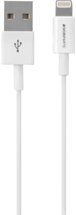 Mobiparts Apple Lightning to USB Cable 2.4A 1m White MP-CAB-MFILIGHT-02