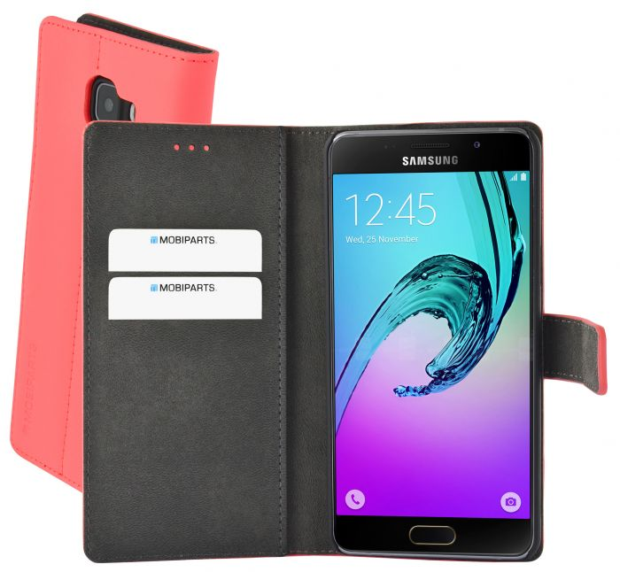 Mobiparts Premium Wallet Case Samsung Galaxy A5 (2016) Peach Pink PRE-WALLETV2-GSA52016-15