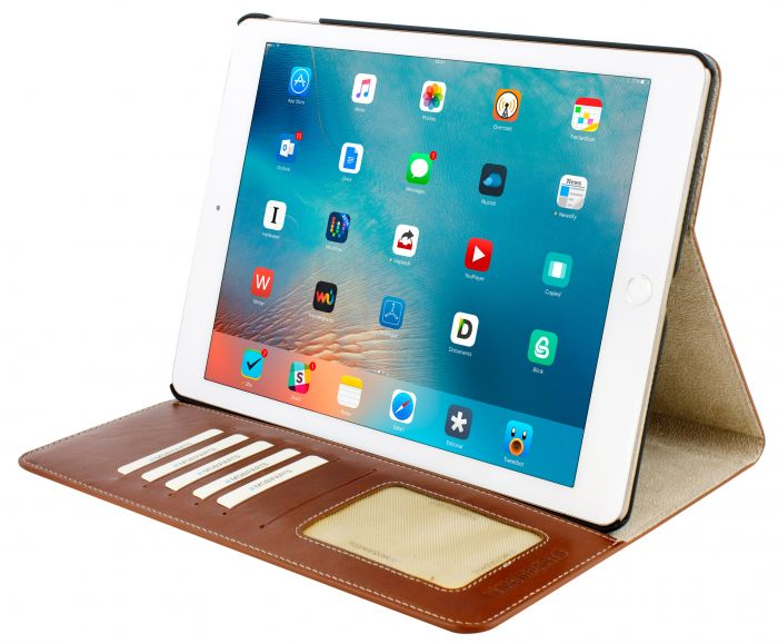 Mobiparts Excellent Tablet Case Apple iPad Air 2 / Pro 9.7 Oaked Cognac EXC-TAB-IPADPRO97-07