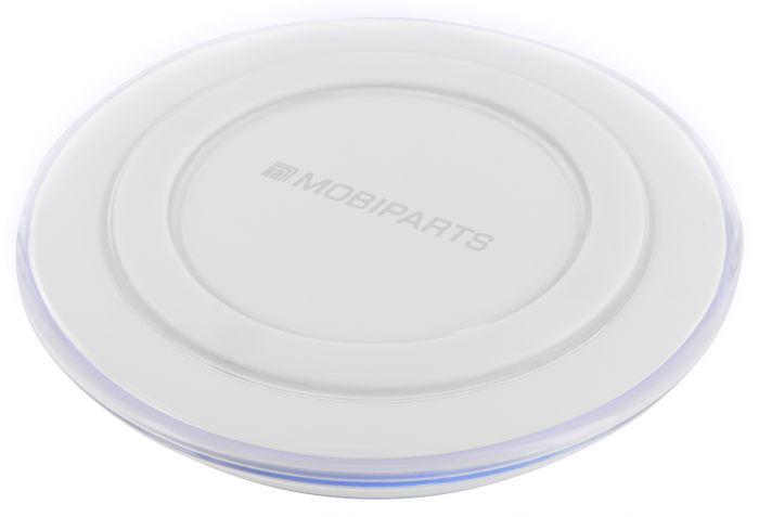 Mobiparts Wireless Charger 1.5A White MP-WIRECHAR-02
