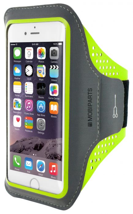 Mobiparts Comfort Fit Sport Armband Apple iPhone 6/6S Neon Green MP-SACF-IP6-06