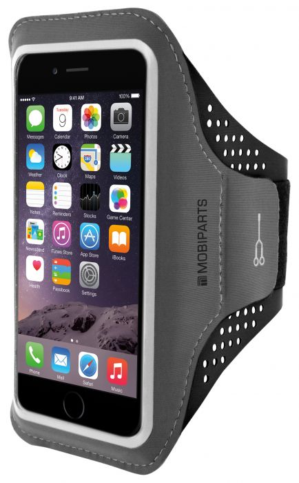 Mobiparts Comfort Fit Sport Armband Apple iPhone 6 Plus / 6S Plus Black MP-SACF-IP6P-01
