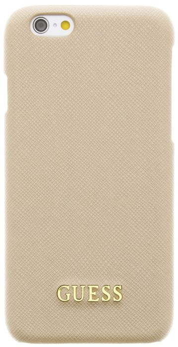 Guess Saffiano Hard Case Apple iPhone 6/6S Beige GUHCP6TBE