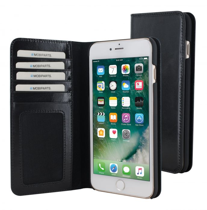 Mobiparts Excellent Wallet Case Apple iPhone 7 Plus Jade Black MP-45155