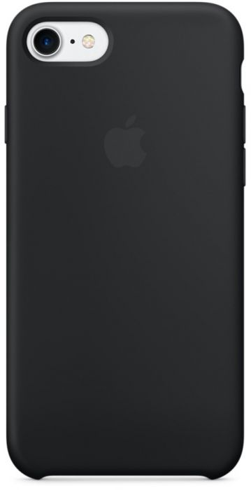 Apple iPhone 7 Silicone Case Black MMW82ZM/A