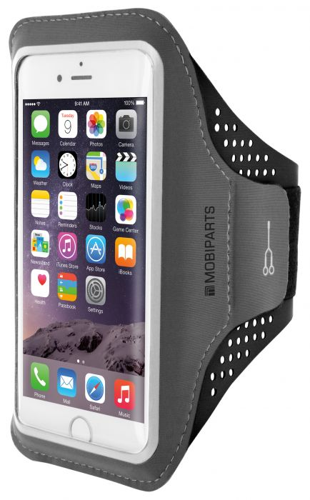 Mobiparts Comfort Fit Sport Armband Apple iPhone 7 Black MP-47723