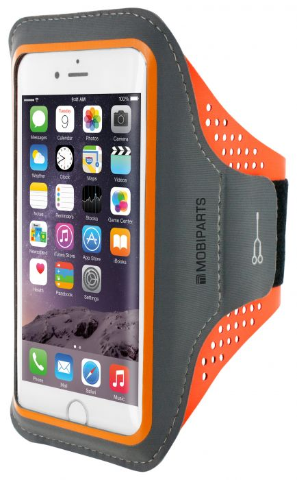 Mobiparts Comfort Fit Sport Armband Apple iPhone 7 Neon Orange MP-47725