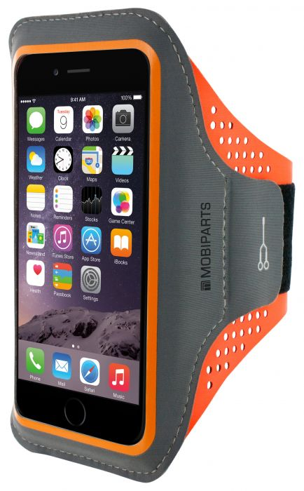 Mobiparts Comfort Fit Sport Armband Apple iPhone 7 Plus Neon Orange MP-47729