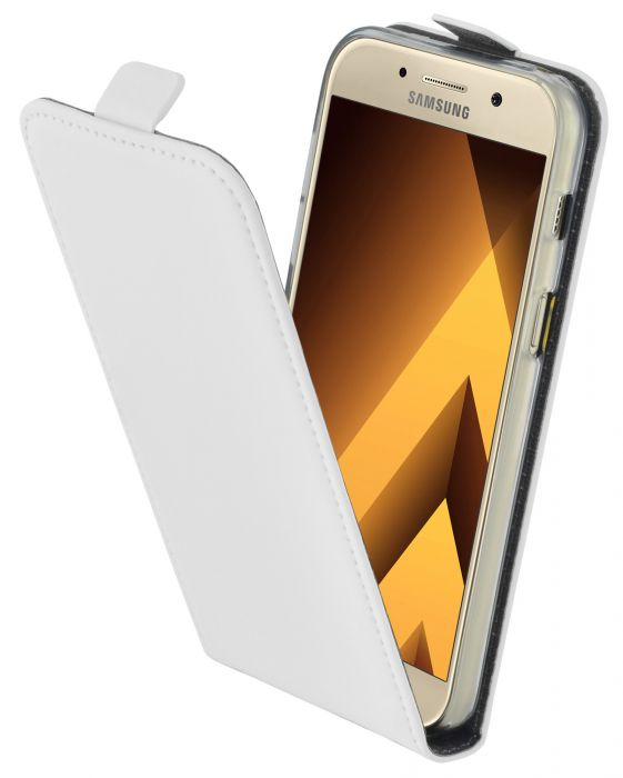 Mobiparts Premium Flip TPU Case Samsung Galaxy A3 (2017) White MP-51306