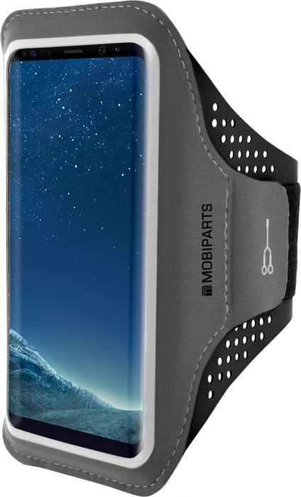 Mobiparts Comfort Fit Sport Armband Samsung Galaxy S8 Plus Black MP-54813