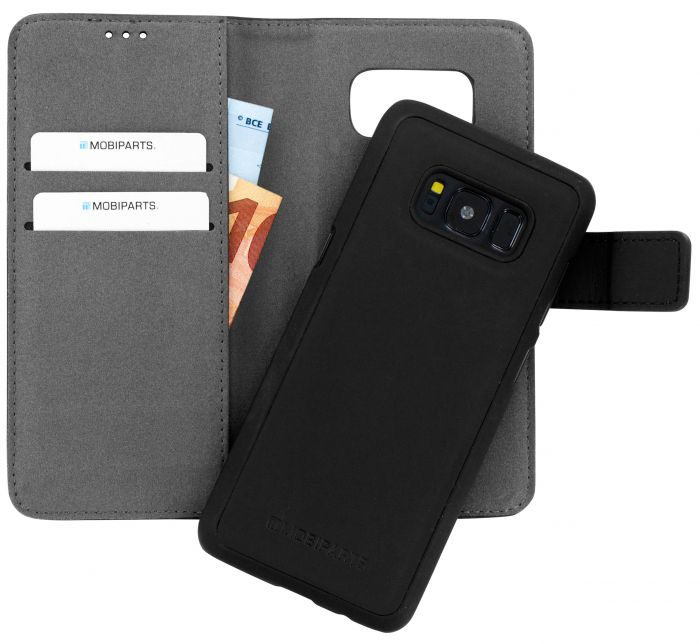 Mobiparts 2 in 1 Premium Wallet Case Samsung Galaxy S8 Black MP-59489