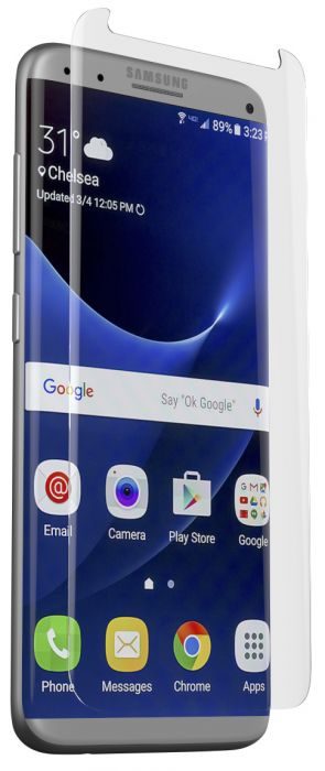 InvisibleShield Contour Glass Screenprotector Samsung Galaxy S8 Plus Clear G8ECGS-F00